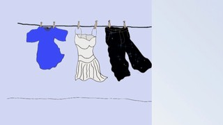 Homeschool Spanish Curriculum: Clothes line
